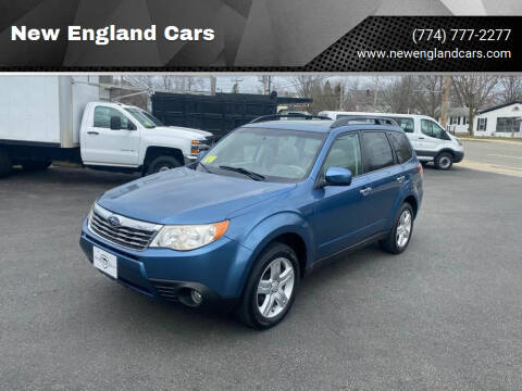 2010 Subaru Forester for sale at New England Cars in Attleboro MA