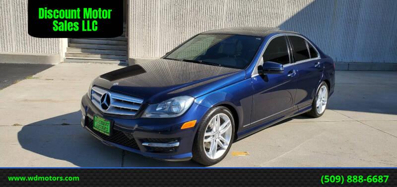 2012 Mercedes-Benz C-Class for sale at Discount Motor Sales LLC in Wenatchee WA