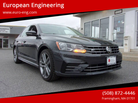 2017 Volkswagen Passat for sale at European Engineering in Framingham MA