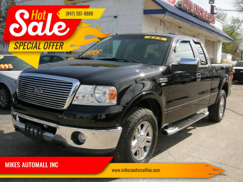 2007 Ford F-150 for sale at MIKES AUTOMALL INC in Ingleside IL