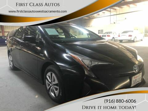 2016 Toyota Prius for sale at Car Source Center in West Sacramento CA