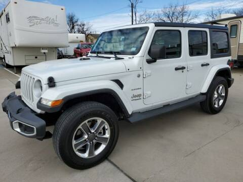 2020 Jeep Wrangler Unlimited for sale at Kell Auto Sales, Inc in Wichita Falls TX
