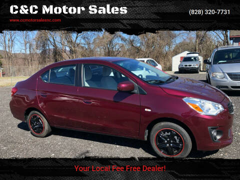 2017 Mitsubishi Mirage G4 for sale at C&C Motor Sales LLC in Hudson NC