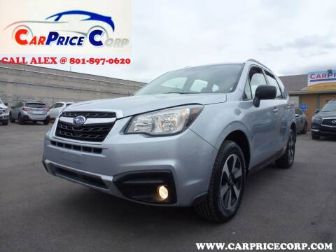 2017 Subaru Forester for sale at CarPrice Corp in Murray UT