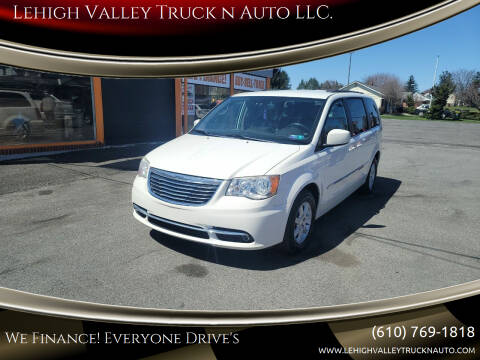 2013 Chrysler Town and Country for sale at Lehigh Valley Truck n Auto LLC. in Schnecksville PA