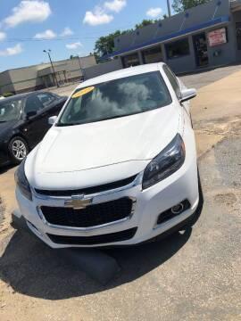 2015 Chevrolet Malibu for sale at River City Motors in Memphis TN