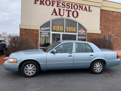 2004 Mercury Grand Marquis for sale at Professional Auto Sales & Service in Fort Wayne IN