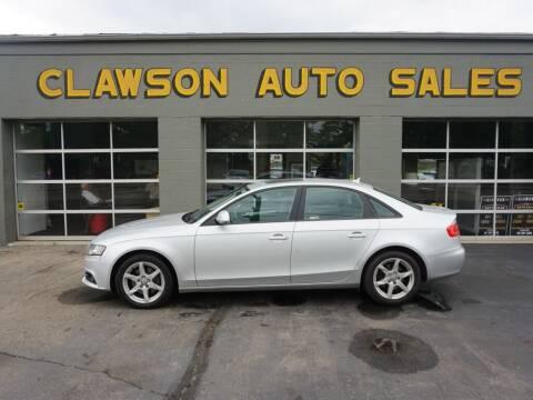 2009 Audi A4 for sale at Clawson Auto Sales in Clawson MI