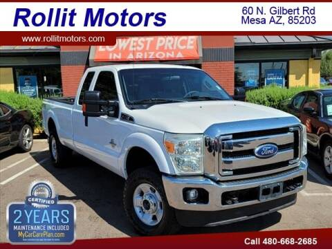 2012 Ford F-250 Super Duty for sale at Rollit Motors in Mesa AZ