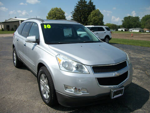 2010 Chevrolet Traverse for sale at USED CAR FACTORY in Janesville WI