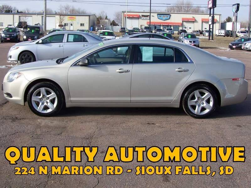 2011 Chevrolet Malibu for sale at Quality Automotive in Sioux Falls SD