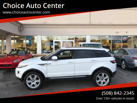 2013 Land Rover Range Rover Evoque for sale at Choice Auto Center in Shrewsbury MA