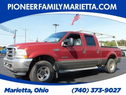 2002 Ford F-250 Super Duty for sale at Pioneer Family preowned autos in Williamstown WV