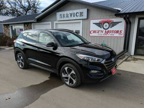 2016 Hyundai Tucson for sale at CRUZ'N MOTORS in Spirit Lake IA