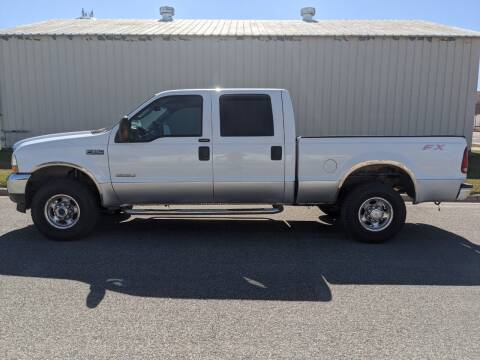 2004 Ford F-250 Super Duty for sale at TNK Autos in Inman KS