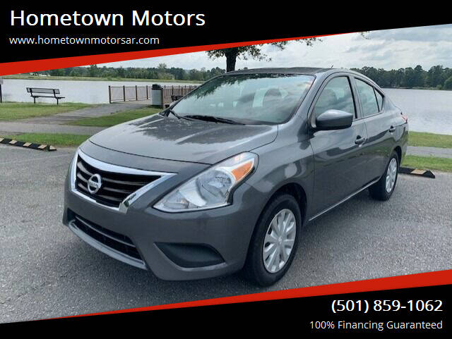 2018 Nissan Versa for sale at Hometown Motors in Maumelle AR