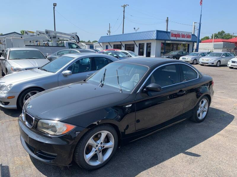 2009 BMW 1 Series for sale at Memphis Auto Sales in Memphis TN