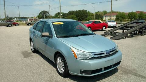 2009 Ford Focus for sale at Kelly & Kelly Supermarket of Cars in Fayetteville NC