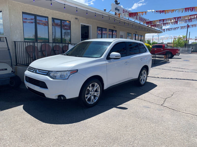 2014 Mitsubishi Outlander for sale at Robert B Gibson Auto Sales INC in Albuquerque NM
