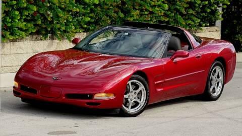 2001 Chevrolet Corvette for sale at Premier Luxury Cars in Oakland Park FL