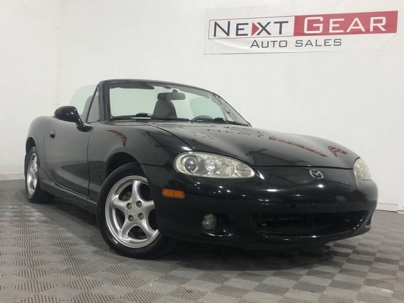 2001 Mazda MX-5 Miata for sale at Next Gear Auto Sales in Westfield IN