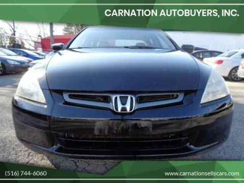 2005 Honda Accord for sale at CarNation AUTOBUYERS, Inc. in Rockville Centre NY