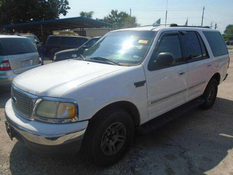 2001 Ford Expedition for sale at SCOTT HARRISON MOTOR CO in Houston TX
