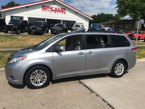 2013 Toyota Sienna for sale at Efkamp Auto Sales LLC in Des Moines IA