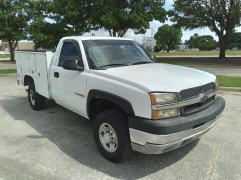2003 Chevrolet Silverado 2500HD for sale at KAM Motor Sales in Dallas TX