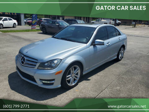 2013 Mercedes-Benz C-Class for sale at Gator Car Sales in Picayune MS