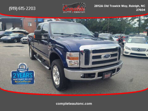 2008 Ford F-250 Super Duty for sale at Complete Auto Center , Inc in Raleigh NC