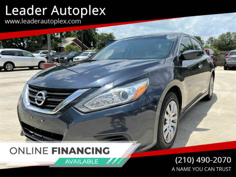 2016 Nissan Altima for sale at Leader Autoplex in San Antonio TX
