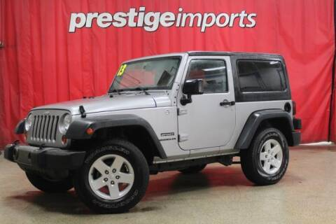 2013 Jeep Wrangler for sale at Prestige Imports in St Charles IL