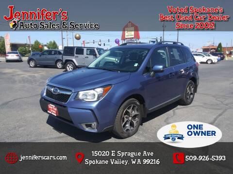 2016 Subaru Forester for sale at Jennifer's Auto Sales in Spokane Valley WA