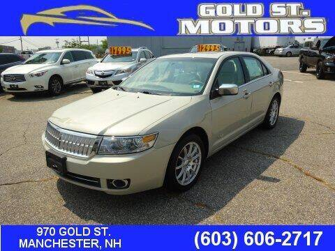 2008 Lincoln MKZ for sale at Gold St. Motors in Manchester NH
