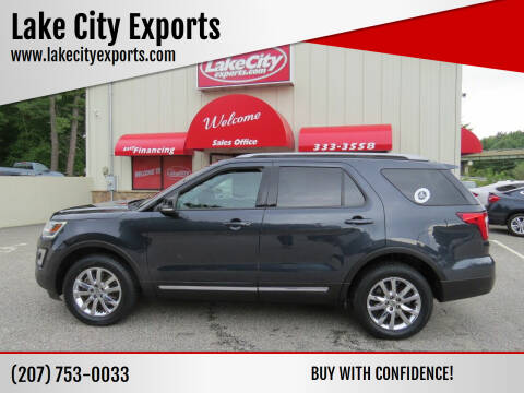 2017 Ford Explorer for sale at Lake City Exports - Lewiston in Lewiston ME