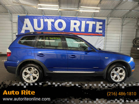 2009 BMW X3 for sale at Auto Rite in Cleveland OH