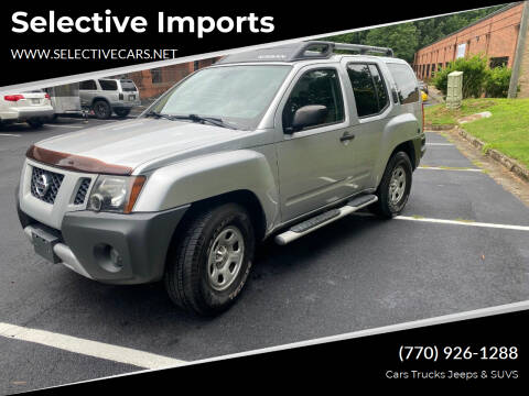 2011 Nissan Xterra for sale at Selective Imports in Woodstock GA