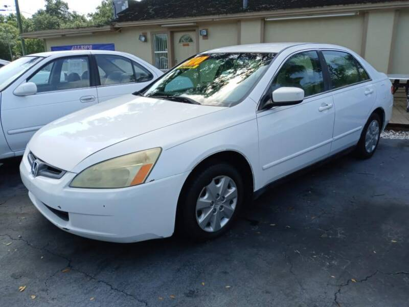 2003 Honda Accord for sale at Allen's Friendly Auto Sales in Sanford FL