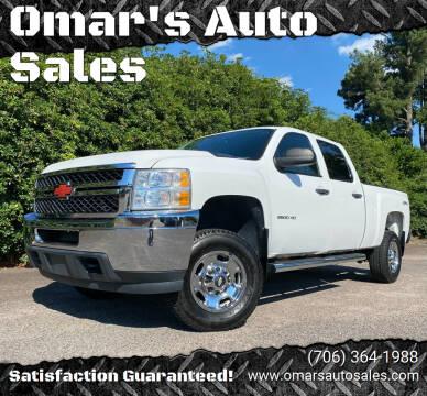 2014 Chevrolet Silverado 2500HD for sale at Omar's Auto Sales in Martinez GA