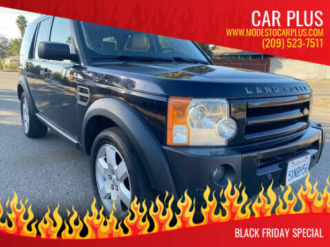 2006 Land Rover LR3 for sale at CAR PLUS in Modesto CA