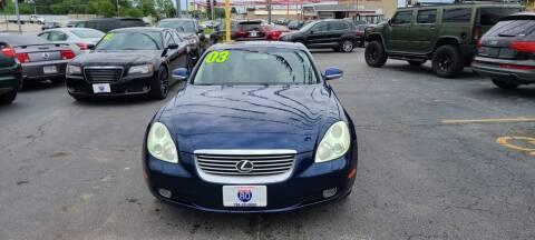 2003 Lexus SC 430 for sale at I-80 Auto Sales in Hazel Crest IL