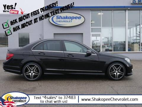 2010 Mercedes-Benz C-Class for sale at SHAKOPEE CHEVROLET in Shakopee MN