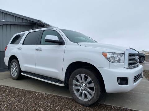 2015 Toyota Sequoia for sale at FAST LANE AUTOS in Spearfish SD