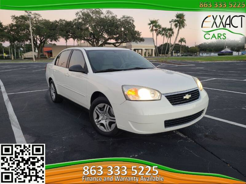 2007 Chevrolet Malibu for sale at Exxact Cars in Lakeland FL