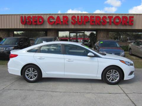 2016 Hyundai Sonata for sale at Checkered Flag Auto Sales NORTH in Lakeland FL