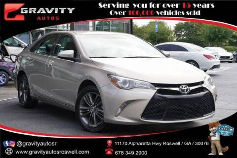 2017 Toyota Camry for sale at Gravity Autos Roswell in Roswell GA