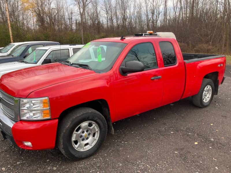 2010 Chevrolet Silverado 1500 for sale at Ogden Auto Sales LLC in Spencerport NY