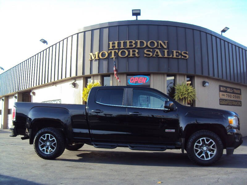 2018 GMC Canyon for sale at Hibdon Motor Sales in Clinton Township MI