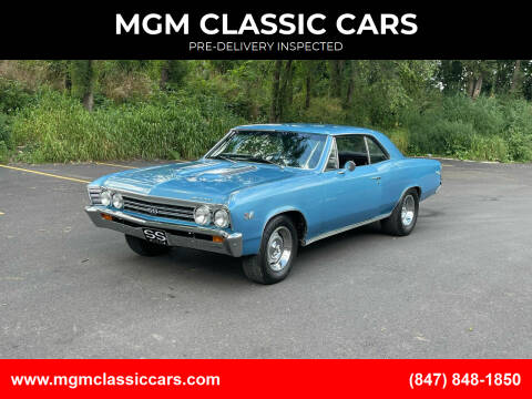 1967 Chevrolet Chevelle for sale at MGM CLASSIC CARS in Addison IL